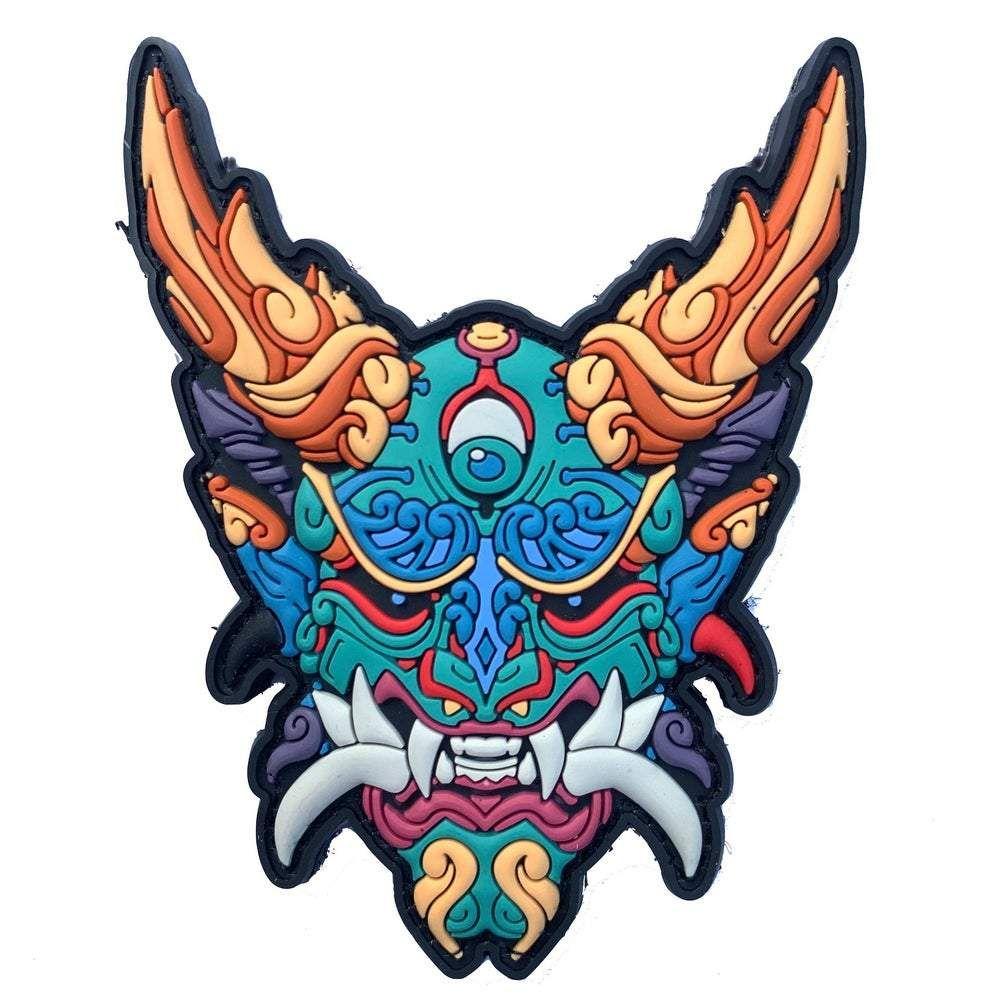Nicofari Masks Oni 3D PVC Patch
