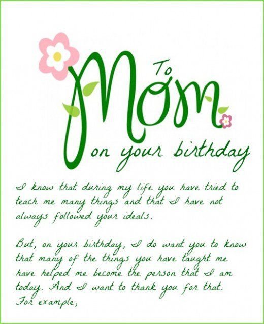 HAPPY BIRTHDAY MOM – Happy Birthday Mom Card