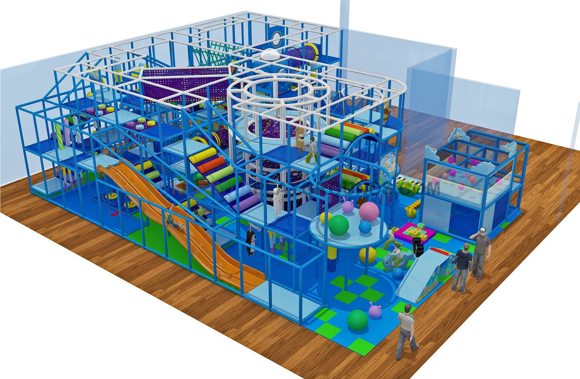 Urban Air Trampoline Park of Overland Park offers eight