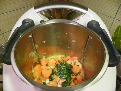 carottes a la creme thermomix blog cuisine thermomix avec recettes pour le tm5 tm31. Black Bedroom Furniture Sets. Home Design Ideas