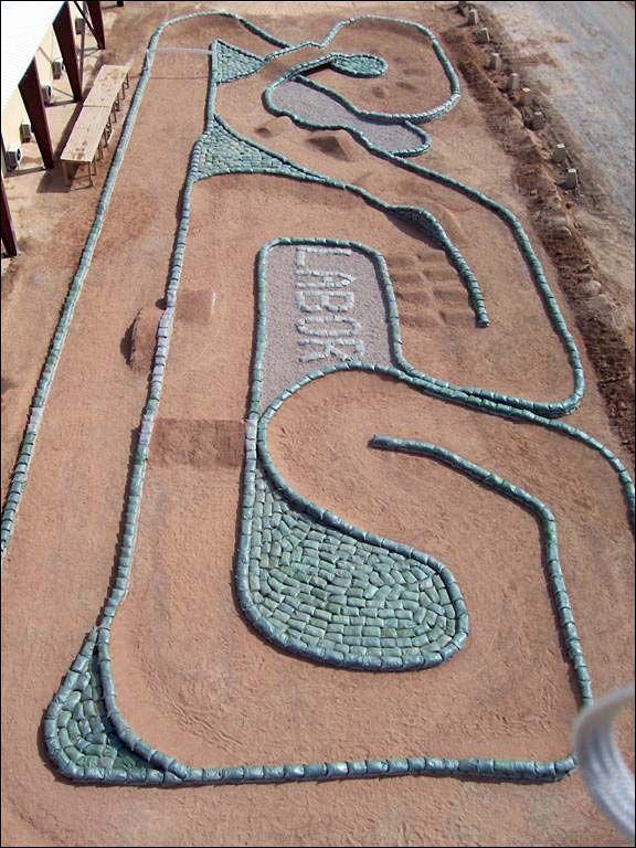 backyard r c track yard and garden pinterest