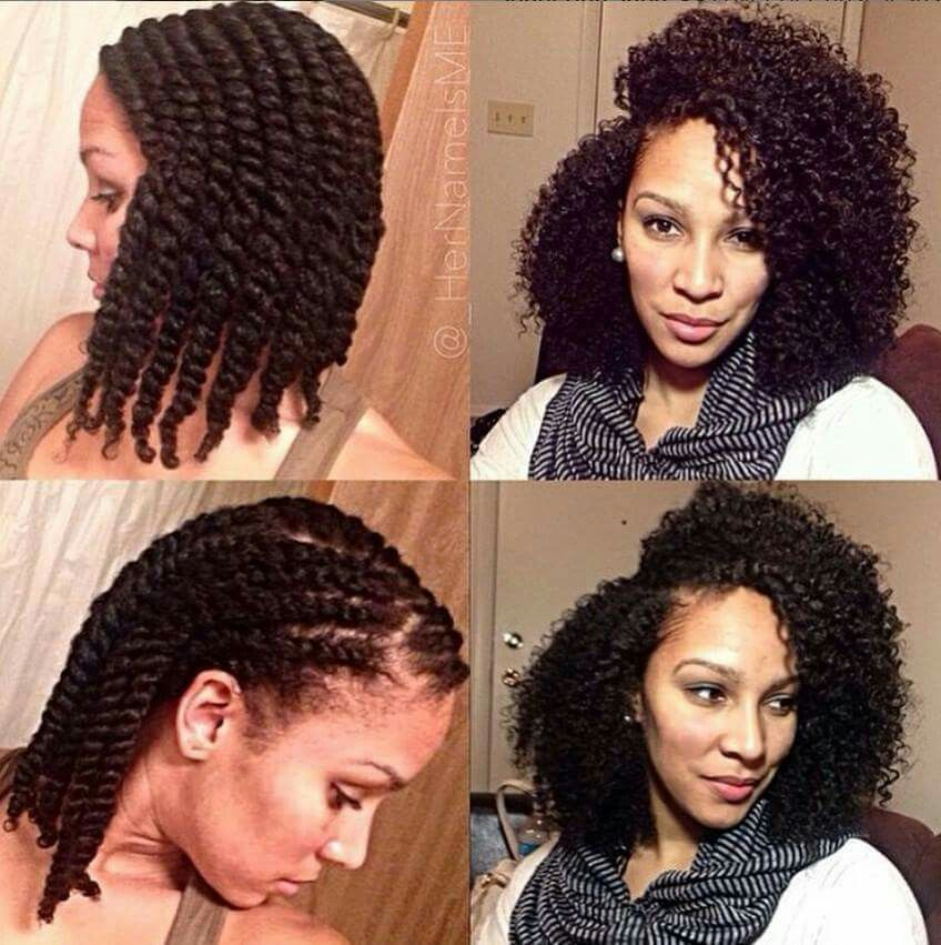 Freshly Defined Twist Out On Tapered Short Natural Hair Natural Hair Twist Out Natural Hair Twists Natural Hair Styles