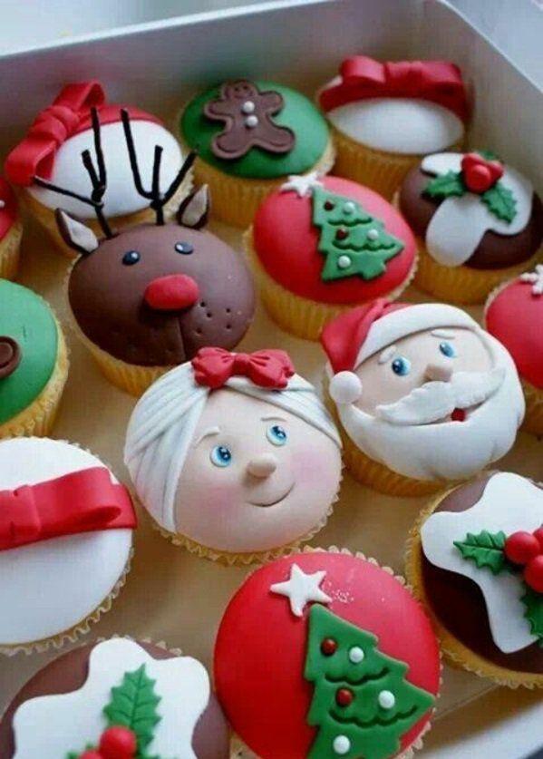 Die besten weihnachtspl tzchen und festliche tischdeko zu weihnachten muffin deko - Platzchen dekorieren ...