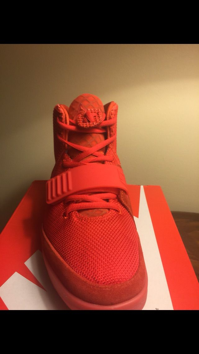 Nike Air Yeezy 2 Red October DS size 9.5 #