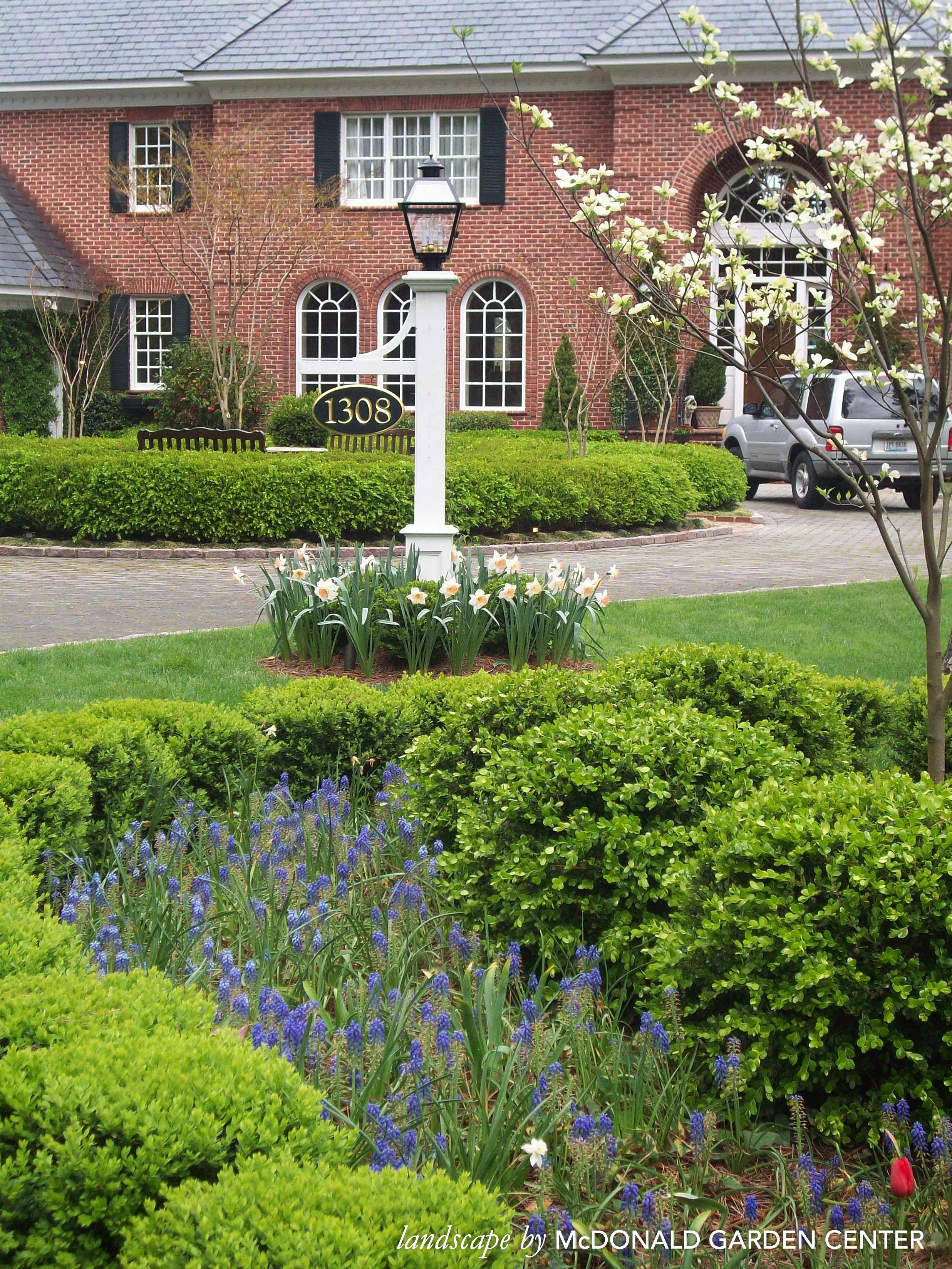 Front Yard Landscaping Landscape By Mcdonald Garden Center