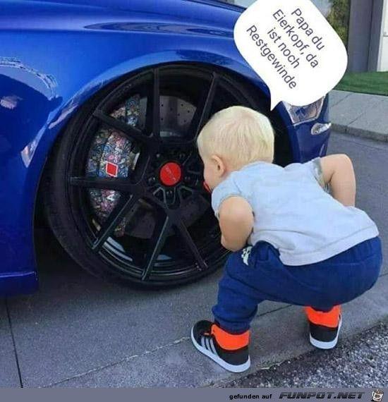 Mensch Papa (mit Bildern)   Auto-witze, Witzige babys ...