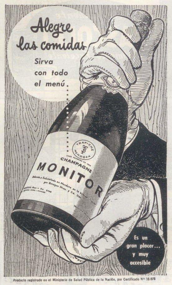 Publicidad argentina, 1958.