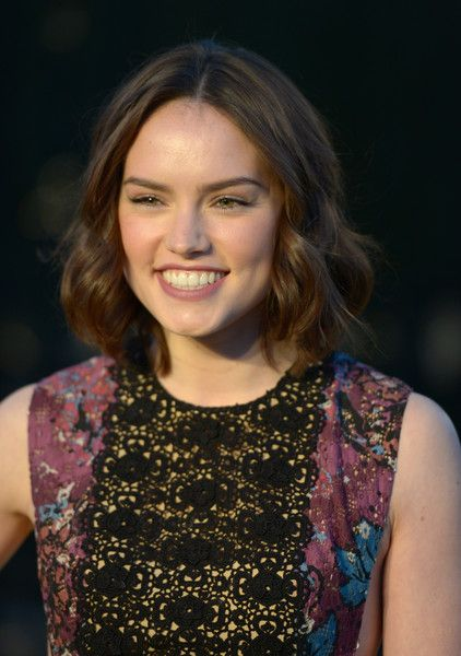 Burberry 'London In Los Angeles' Event - Red Carpet - Daisy Ridley (Star Wars)