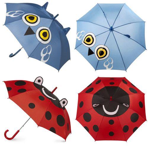 Owl Umbrella #owl #umbrella #critter #animal #ladybug