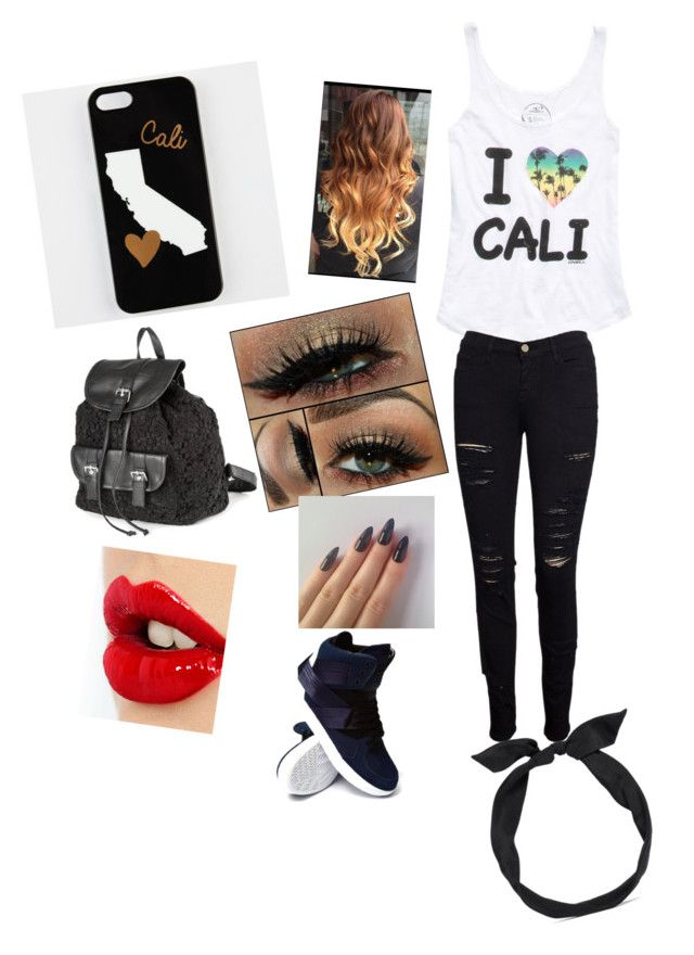 """cali girl"" by calimybae ❤ liked on Polyvore featuring interior, interiors, interior design, home, home decor, interior decorating, O'Neill, Frame Denim, adidas and claire's"