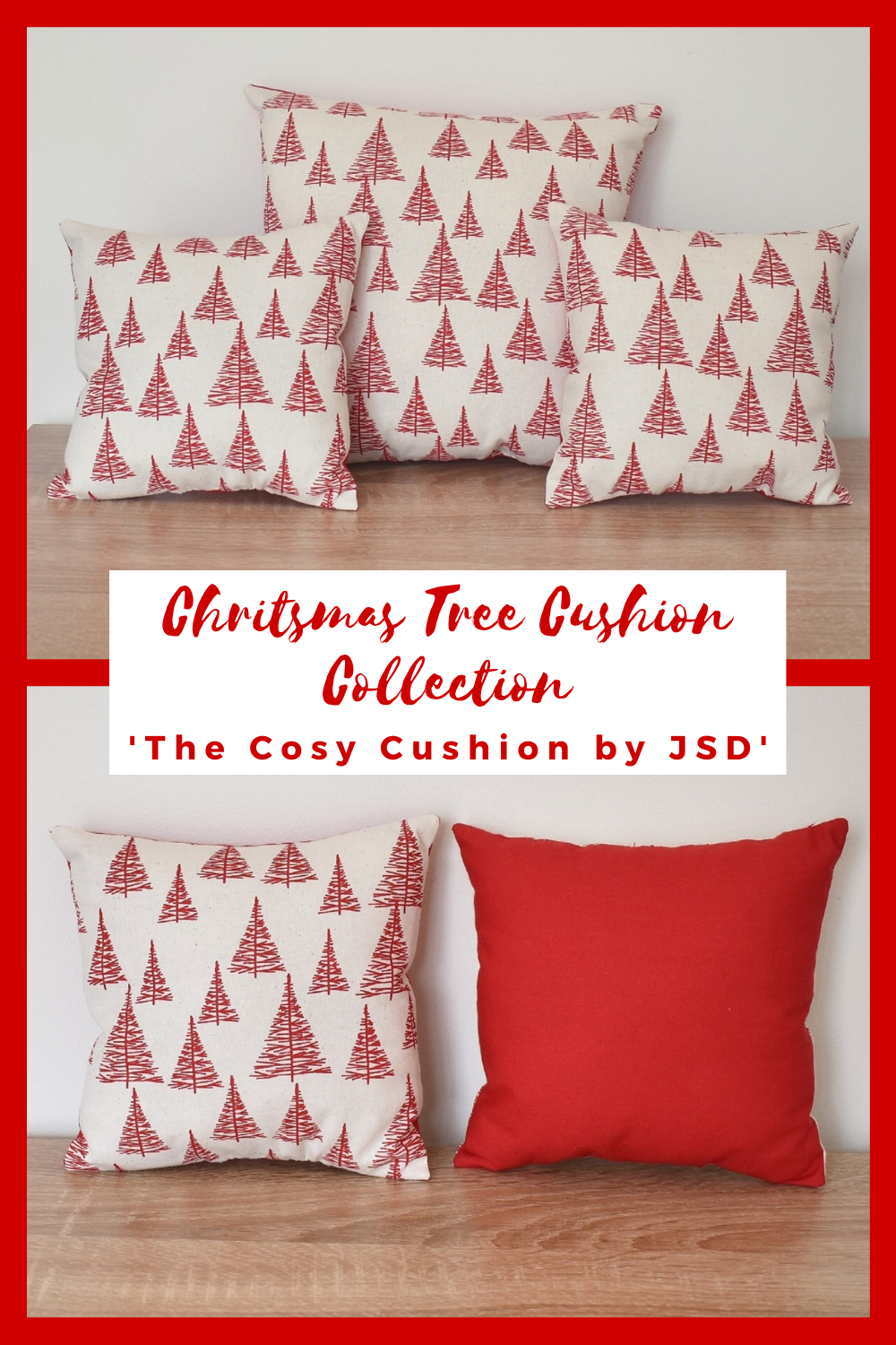 Christmas cushions for every interior. Whether you want to decorate a sofa for Christmas, place cushions around the dining table for an extra festive touch, or add some to your bedroom for some cosy Christmas cheer then look no further. With a lovely range of Christmas cushions available we are sure to have one that will be a perfect fit for your festive home. #christmascushions #festivecushions #christmashome #christmastreecushions #christmassoftfurnishings #redchristmascushions #christmas2020