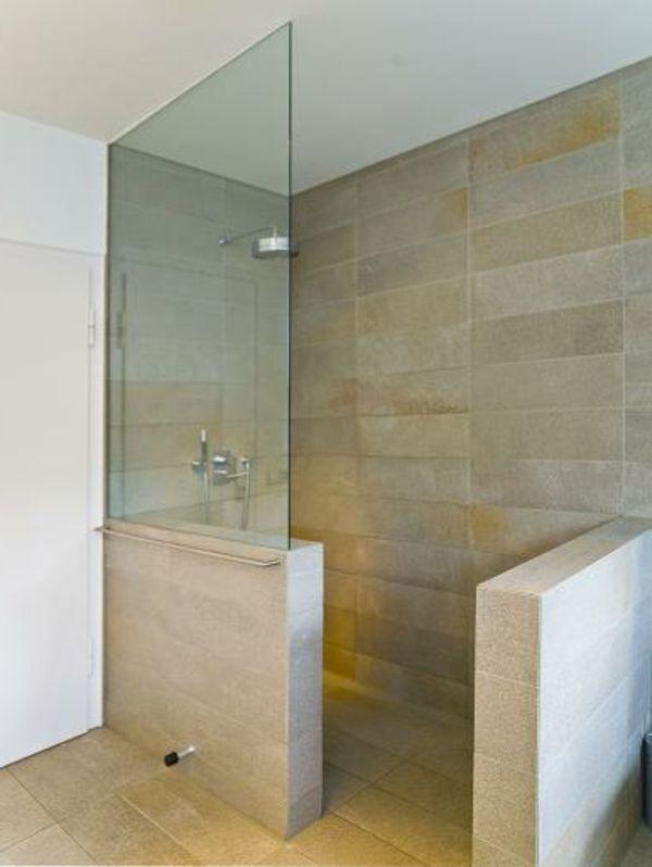 Dusche halbhoch gemauert glas  Bildergebnis für bad dusche glas | Wohnung Drea | Pinterest | Bäder ...