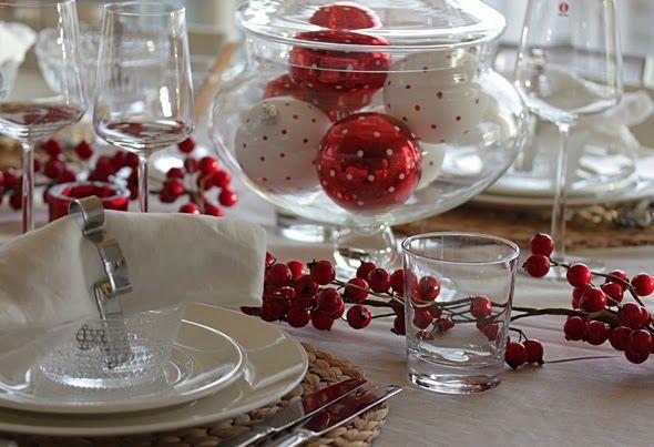 Idee de decoration de table de noel
