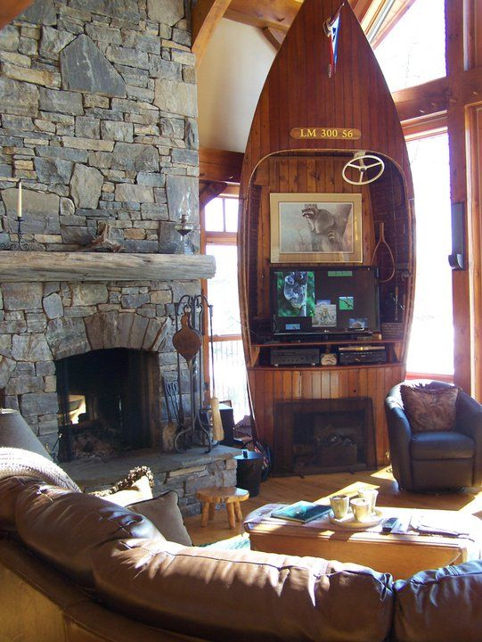 Interesting Entertainment Center Discovery Dream Homes Timberframe And Log Pinned With Pinvolve