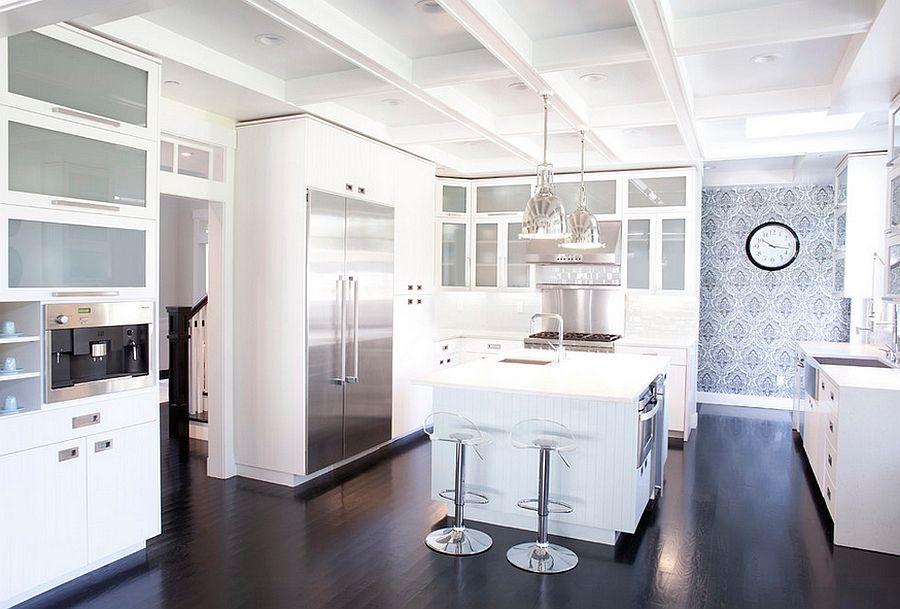 Kitchen Wallpaper Ideas Wall Decor That Sticks Kitchen