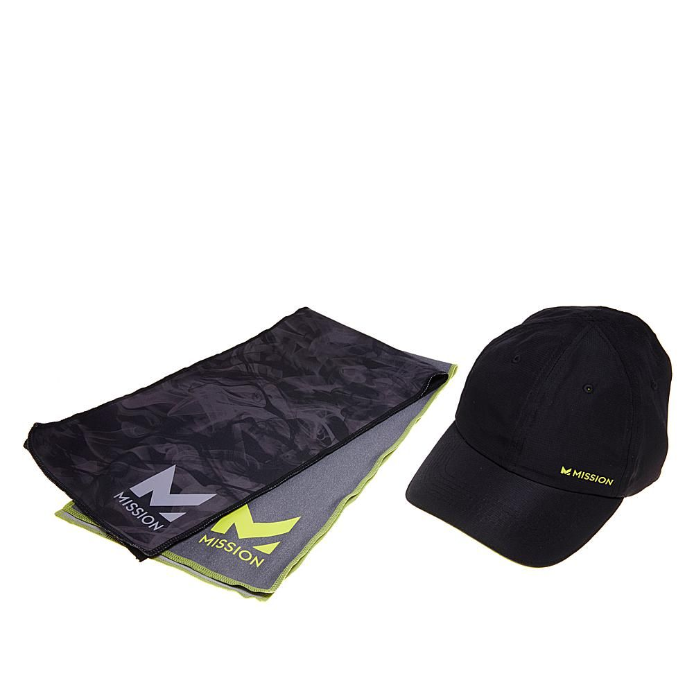 Mission Hydroactive Max Cooling Towels And Cooling Hat 8596121