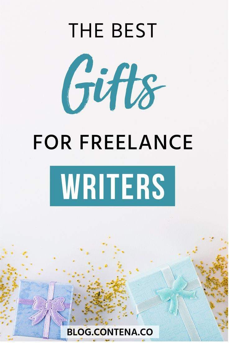 The Ultimate Gift Guide for Freelance Writers Writing