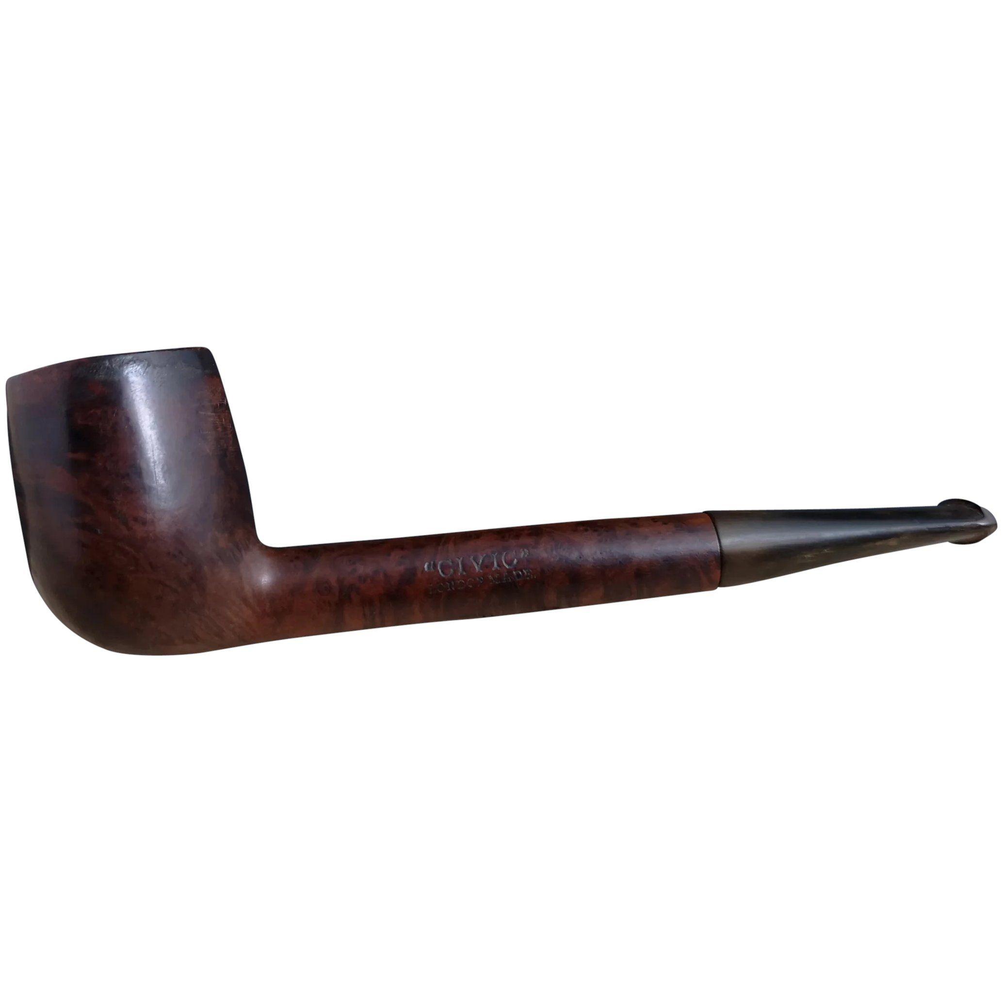 English Burl wood Pipe