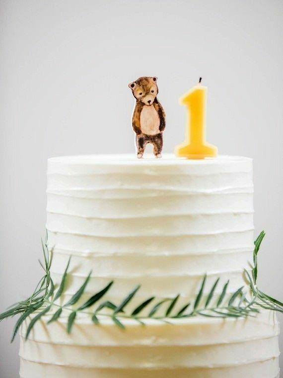 G simple bear but cute Party cakes Pinterest Bears Birthdays