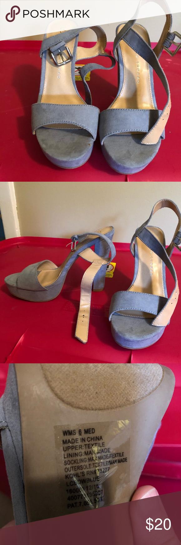 LC Lauren Conrad Strappy Dress High Heels - Women   Womens