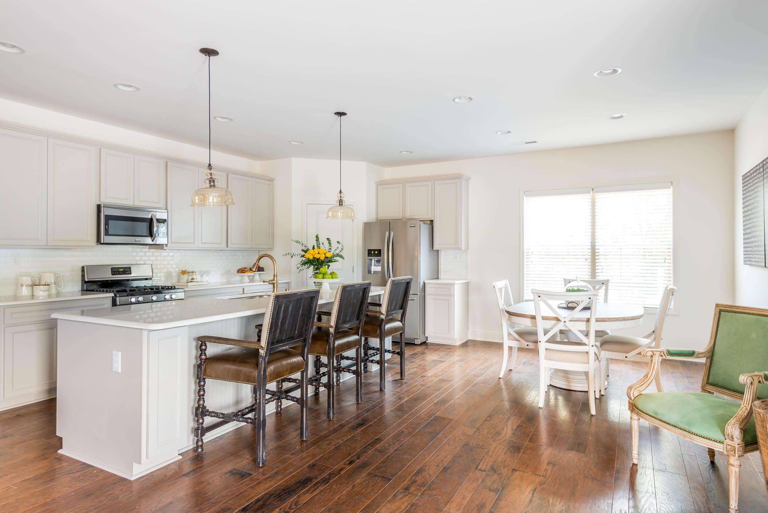 The Albany Open Floor Plan Kitchen Eat In Kitchen Open Floor Plan Kitchen Floor Plans Open Family Room