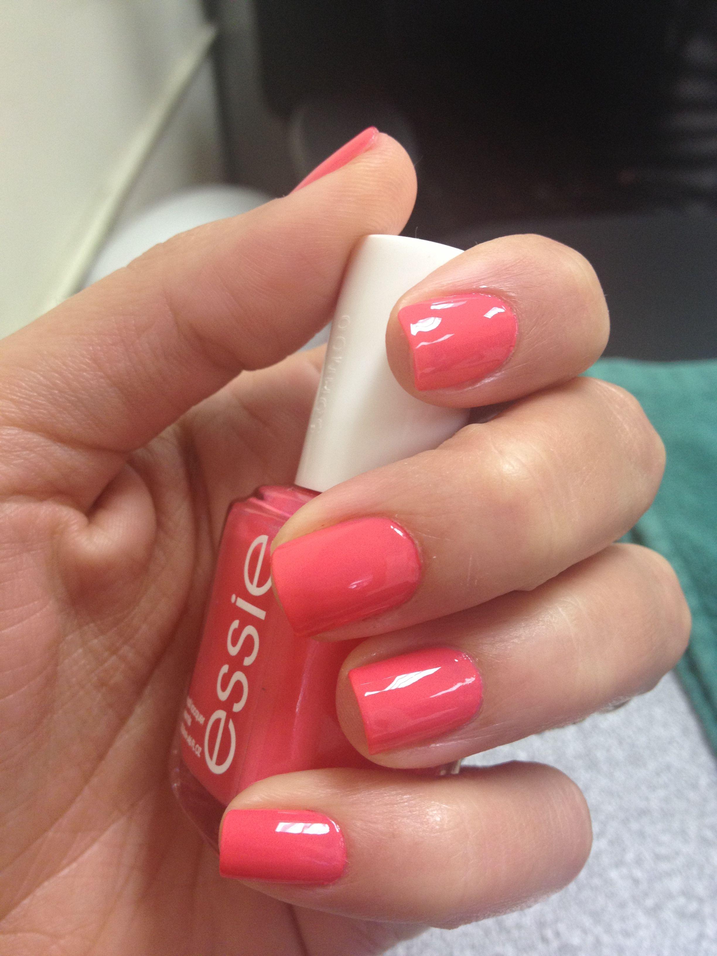essie cute as a button nail polish craze pinterest