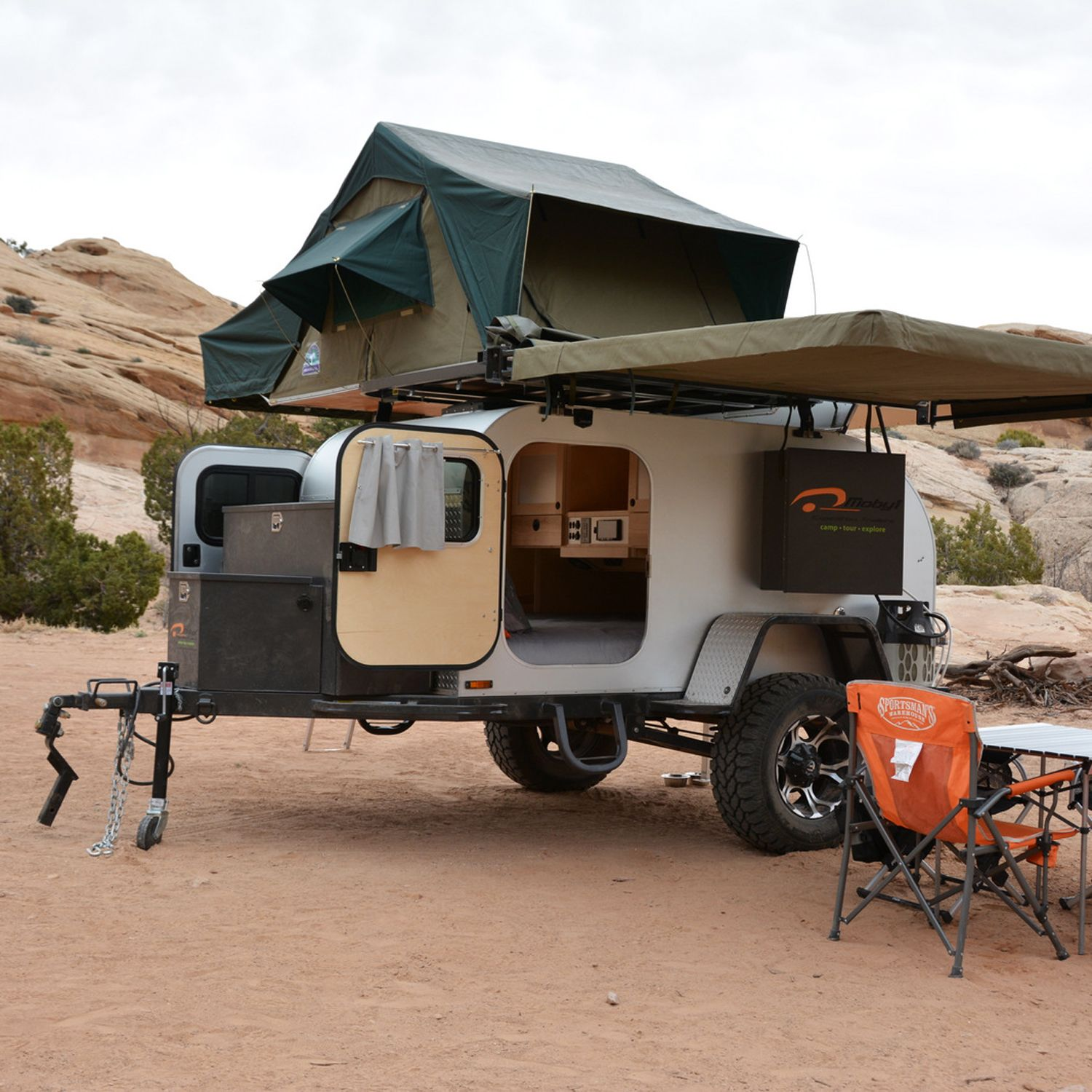4 Campers For Rediscovering The Open Road Off Road Trailer Jeep