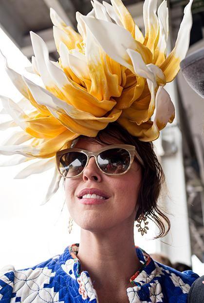 e682d711ce4b7 50 of Our Favorite Derby Hats – Garden   Gun this giant dahlia-like flower  hat