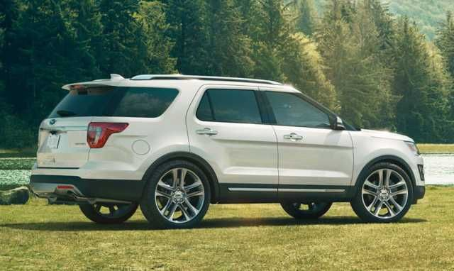 2016 Ford Explorer Rear Car Ford Ford Explorer Ford Suv