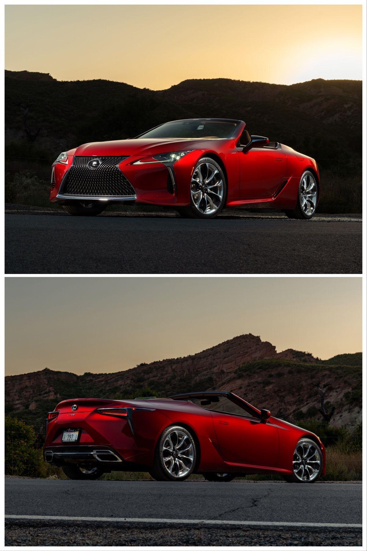 2021 Lexus Lc500 Convertible First Test Drive In 2020 Lexus Lexus Lc Convertible