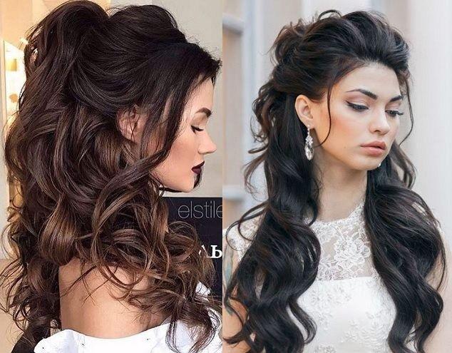 13 Coafuri Mireasă în 2019 Pentru Nuntă Coafuri Hairstyle