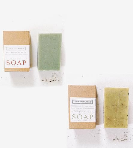 Cleanse Moisturize And Unwind With These All Natural Glycerin Soap Bars Made With Pure Essential Oils Botanicals And Soap Handmade Beauty Products Peppermint