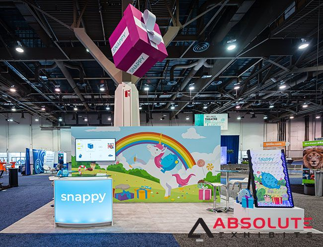 Snappy Gifts- SHRM 2019 #tradeshow #tradeshows #tradeshowexhibit #tradeshowbooth #tradeshowdisplay #tradeshowlife #exhibithouse #exhibitdesign #exhibitor #exhibiting #exhibition #exhibitiondesign #exhibitionbooth #exhibitionstand #exhibitiondisplay #marketing #design #designer #designthinking #brand #branding #brandenvironment #brandactivation #brandidentity #brandstrategy #gifts #humanresources #HR #brandmarketing #conference #convention #SHRM #expo #exposition #exposicion #tradefair