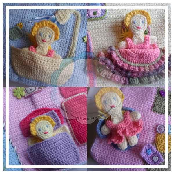 Creative Crochet Workshop: My Crochet Dollhouse Part Eight. The doll ...
