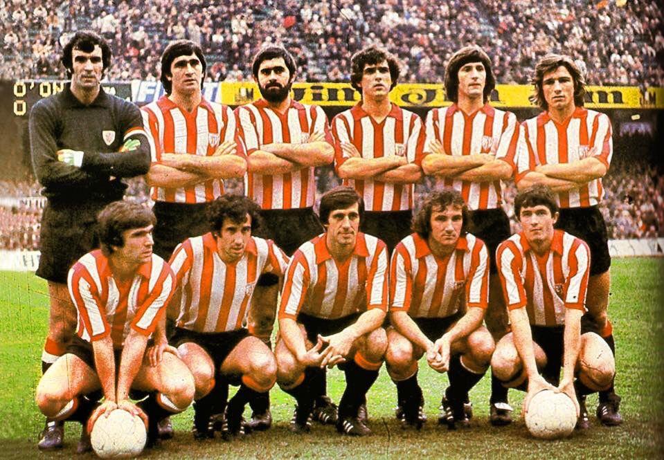 Athletic Club 1977/78. Iríbar,Astrain,Guisasola,Villar