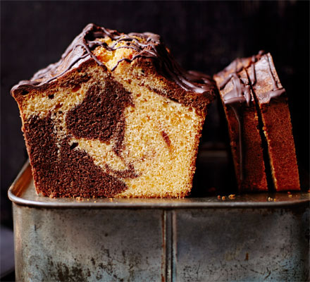 Chocolate orange marble cake | Recipe | Bbc good food ...
