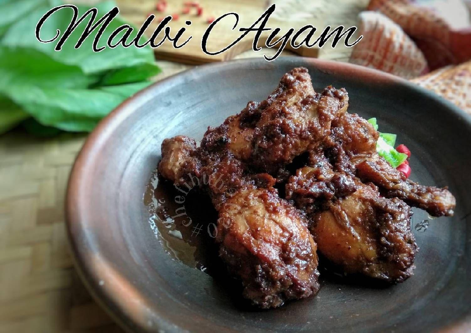 Resep Malbi Ayam Oleh Kikynov Resep Resep Ayam Kayu Manis