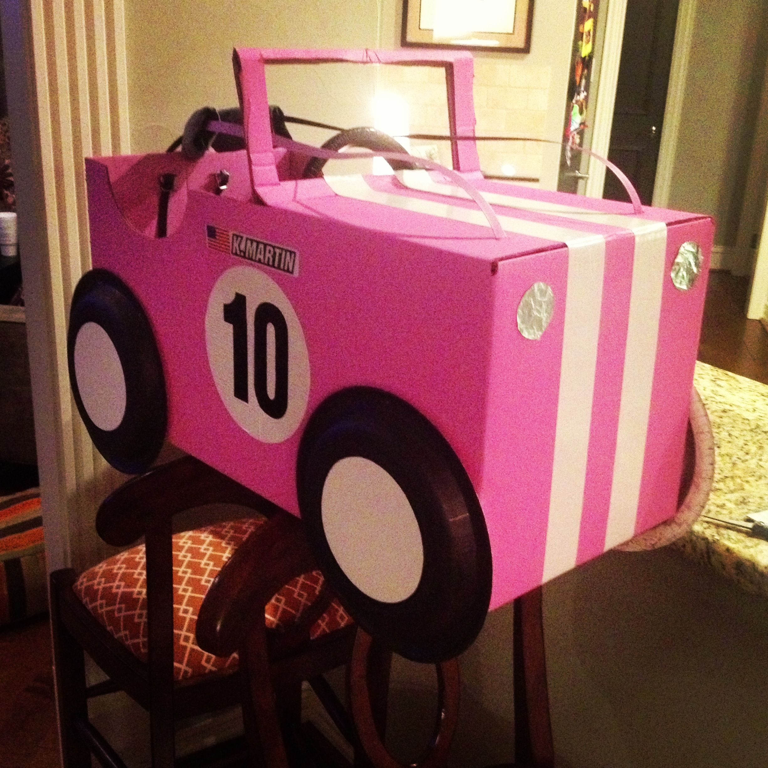 Craft How To Make A Box Car Movie Party Parents And Movie