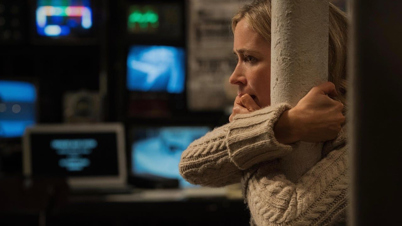A quiet place a family is forced to live in silence while
