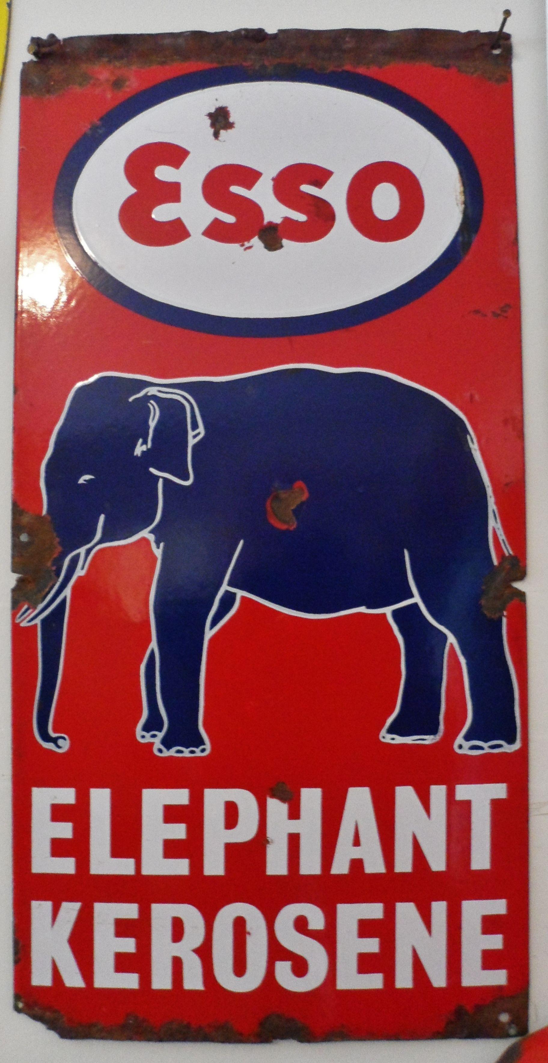 1950 Esso Sign