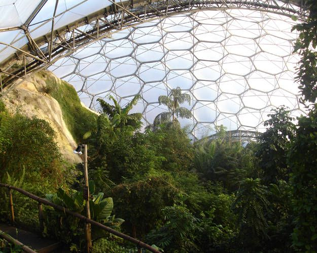 Eden Project, St Austell, Cornwall