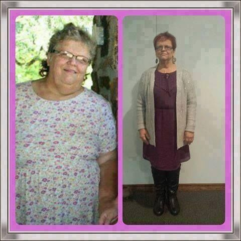 She is half the person she was before You can find out more about Skinny Fiber here : http://www.mrsmcgraw.sbc90.com.