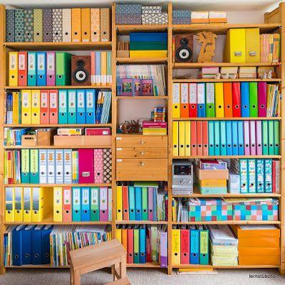 Raumgestaltung studium  Dass nenn ich mal Ordnung im Arbeits-Kreativ-Zimmer ...