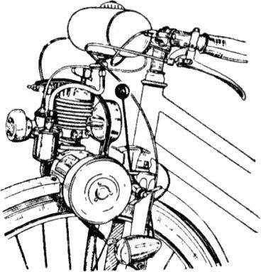 1949 Le Poulain 50cc Model A