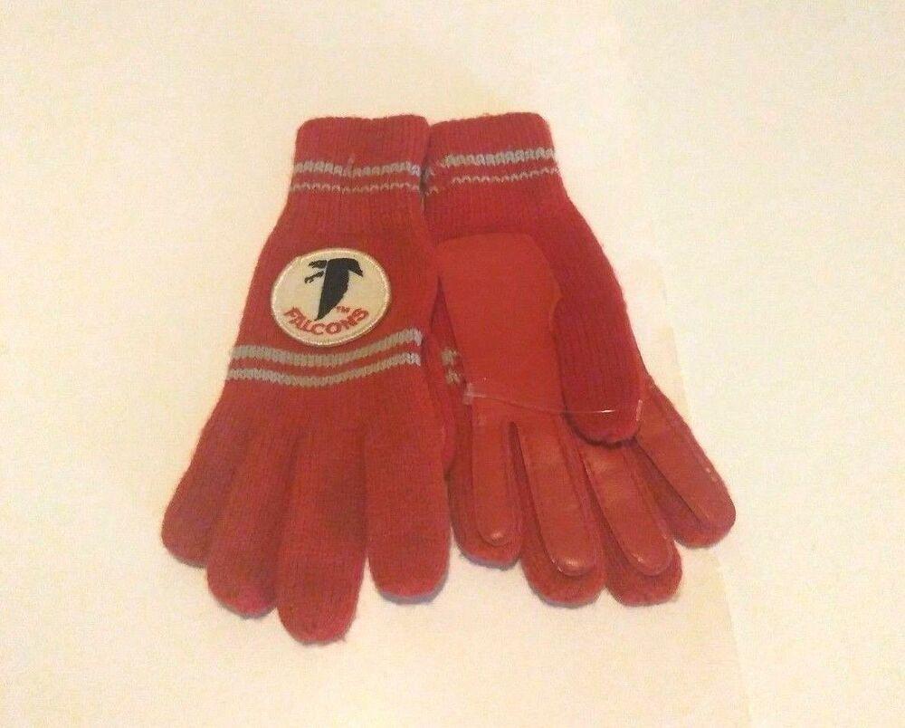 Vtg Atlanta Falcons Small Youth Gloves Nfl In 2020 Atlanta Falcons Kid Gloves Atlanta