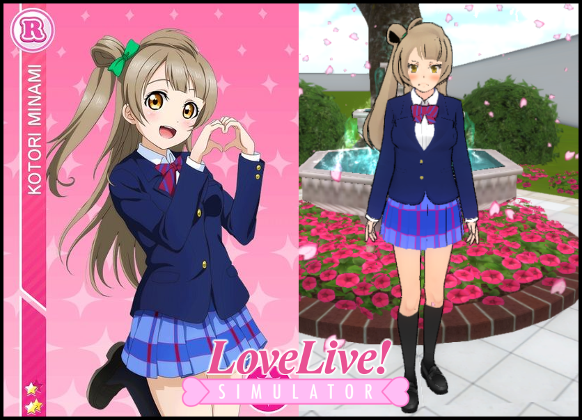 Custom Uniform Kotori 1 Yandere Simulator Pinterest Yandere