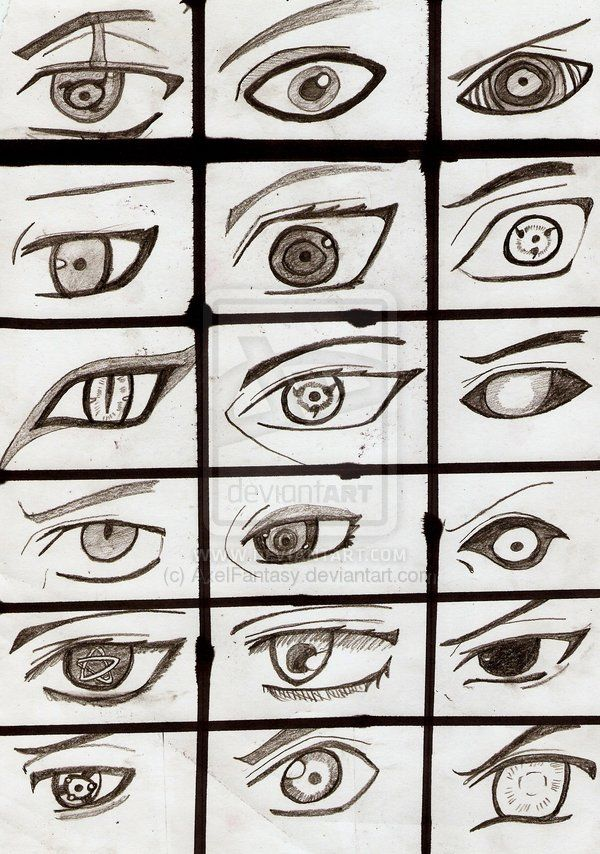Naruto Eyes Desenho De Olhos Anime Olhos Desenho Desenhos De