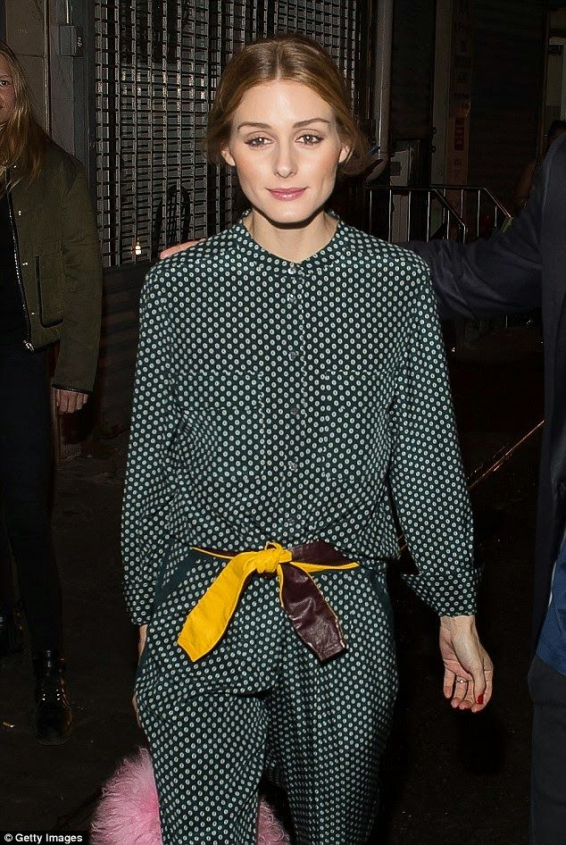 Olivia Palermo At Vogue.com Dim Sum Pajama Party in New York City.
