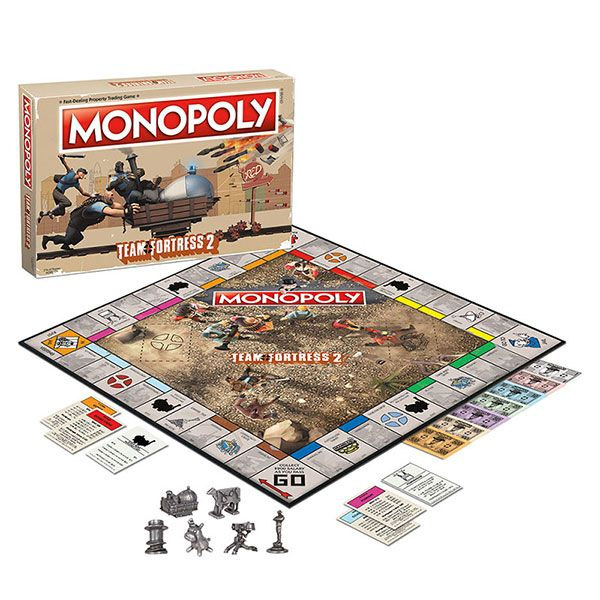 Team Fortress 2 Monopoly | ThinkGeek