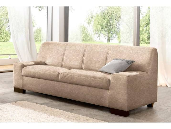Domo Collection 3 Sitzer Sofa Beige Hoher Sitzkomfort Fsc Zertifiz Sofa Love Seat Home Decor